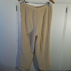 100% Silk Talbots Slacks